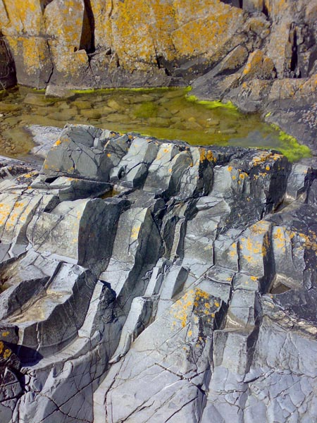 Coastal rock formations - Skerries